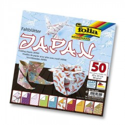 PAPEL ORIGAMI 50 Hj. 20x20 cm JAPAN