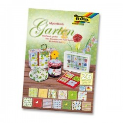 BLOCK SCRAP CARTUL. Y PAPEL GARDEN