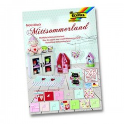 BLOCK SCRAP CARTUL. Y PAPEL MITTSOMMERLAND