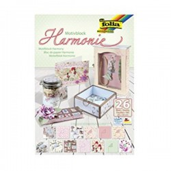 BLOCK SCRAP CARTUL. Y PAPEL HARMONIE