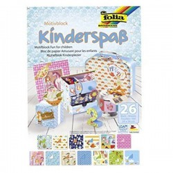BLOC SCRAP CARTUL. Y PAPEL KINDERSPAB