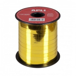 CINTA METALIZADA 7mm x 250 m ORO