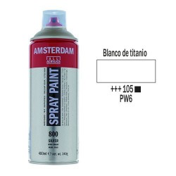 SPRAY ACRILICO 400 ml (105) BLANCO TITANIO