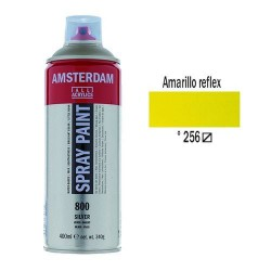 SPRAY ACRILICO 400 ml (256) AMARILLO REFLEX