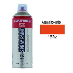 SPRAY ACRILICO 400 ml (257) ANARANJ. REFLEX