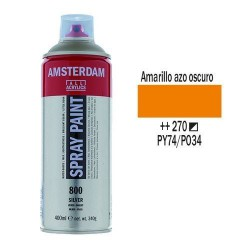 SPRAY ACRILICO 400 ml (270) AMAR. AZO OSC.