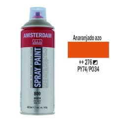 SPRAY ACRILICO 400 ml (276) ANARANJADO AZO