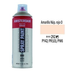 SPRAY ACRILICO 400 ml (292) AMAR. NAP. ROJO CL.