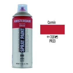 SPRAY ACRILICO 400 ml (318) CARMIN