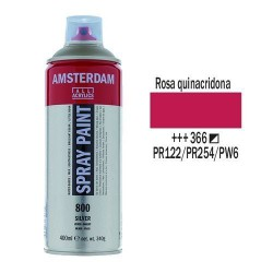 SPRAY ACRILICO 400 ml (366) ROSA QUINACRIDONA