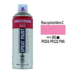 SPRAY ACRILICO 400 ml (385) ROSA QUINACR. CLARO