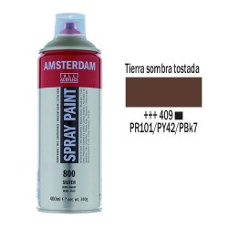 SPRAY ACRILICO 400 ml (409) SOMBRA TOSTADA