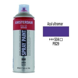 SPRAY ACRILICO 400 ml (504) AZUL ULTRAMAR