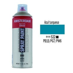 SPRAY ACRILICO 400 ml (522) AZUL TURQUESA