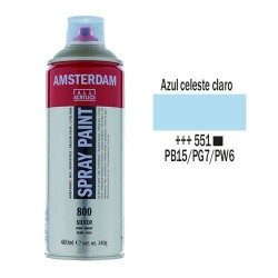 SPRAY ACRILICO 400 ml (551) AZUL CELESTE