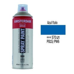 SPRAY ACRILICO 400 ml (570) AZUL FTALO
