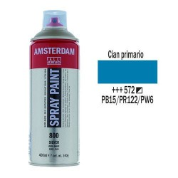 SPRAY ACRILICO 400 ml (572) AZUL CIANO PRIM.