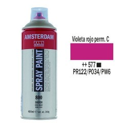 SPRAY ACRILICO 400 ml (577) VIOLETA ROJO PER. CL.
