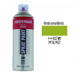 SPRAY ACRILICO 400 ml (617) VERDE AMARILLO