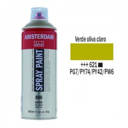 SPRAY ACRILICO 400 ml (621) VERDE OLIVA CLARO