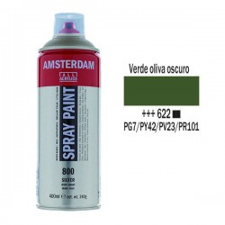 SPRAY ACRILICO 400 ml (622) VERDE OLIVA OSC.