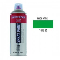 SPRAY ACRILICO 400 ml (672) VERDE REFLEX