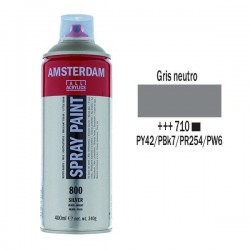 SPRAY ACRILICO 400 ml (710) GRIS NEUTRO