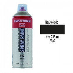 SPRAY ACRILICO 400 ml (735) NEGRO OXIDO