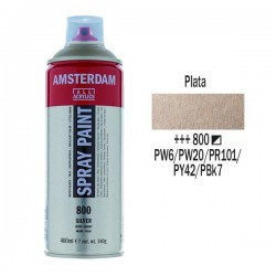 SPRAY ACRILICO 400 ml (800) PLATA