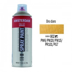SPRAY ACRILICO 400 ml (802) ORO CLARO