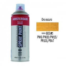 SPRAY ACRILICO 400 ml (803) ORO OSCURO