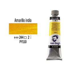 OLEO 40 ml VAN GOGH (244) AMARILLO INDIO