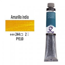 OLEO 60 ml VAN GOGH (244) AMARILLO INDIO