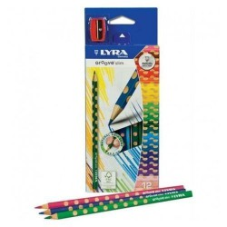 CAJA 12 LAPICES COLOR LYRA GROOVE