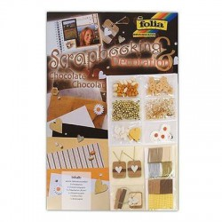 KIT SCRAP DECO-SET CHOCOLAT