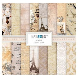 Set 10 Hj. papel Scrap FOR YOU 30,5x30,5 cm Sewing