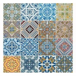 Servilletas papel 20 Un. TRIBAL Ref. 200264 Tiles