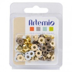 Pack 64 Ojetes (Eyelets) 7 mm Surtido Love