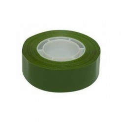 Cinta adhesiva 19 mm x 33 m color Verde