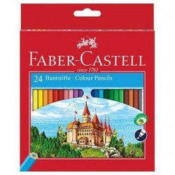 Caja 24 EcoLápices color FABER CASTELL Castillo