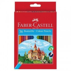 Caja 36 EcoLápices color FABER CASTELL Castillo