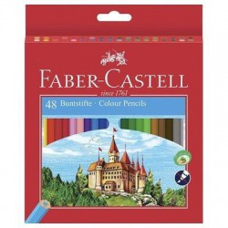 Caja 48 EcoLápices color FABER CASTELL Castillo