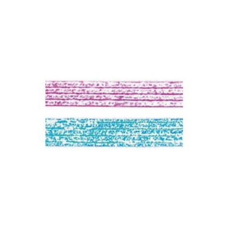 Pack 2 cintas Washi Tape Glitter 15 mm x 2,5 m (2500294)