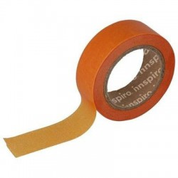 Washi Tape de papel (17427) 15 mm x 10 m Naranja