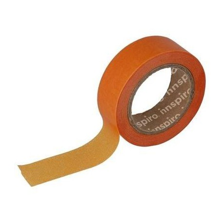 Washi Tape de papel 15 mm x 10 m Naranja