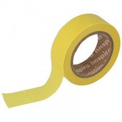 Washi Tape de papel (17426) 15 mm x 10 m Amarillo