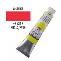 GOUACHE TALENS 20 ml (334) ESCARLATA