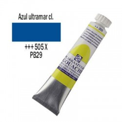 GOUACHE TALENS 20 ml (505) AZUL ULTRAMAR CL.