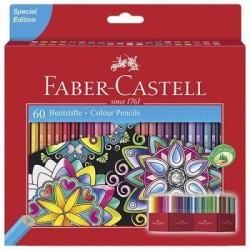 Caja 60 EcoLápices color FABER CASTELL Castillo