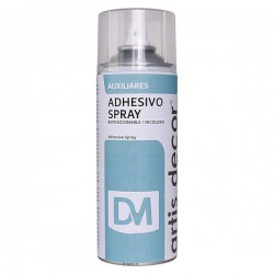 Spray Adhesivo Removible Artis Decor 400 ml